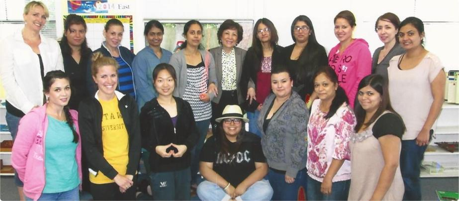 Teachers at Montessori Teacher Education Institute